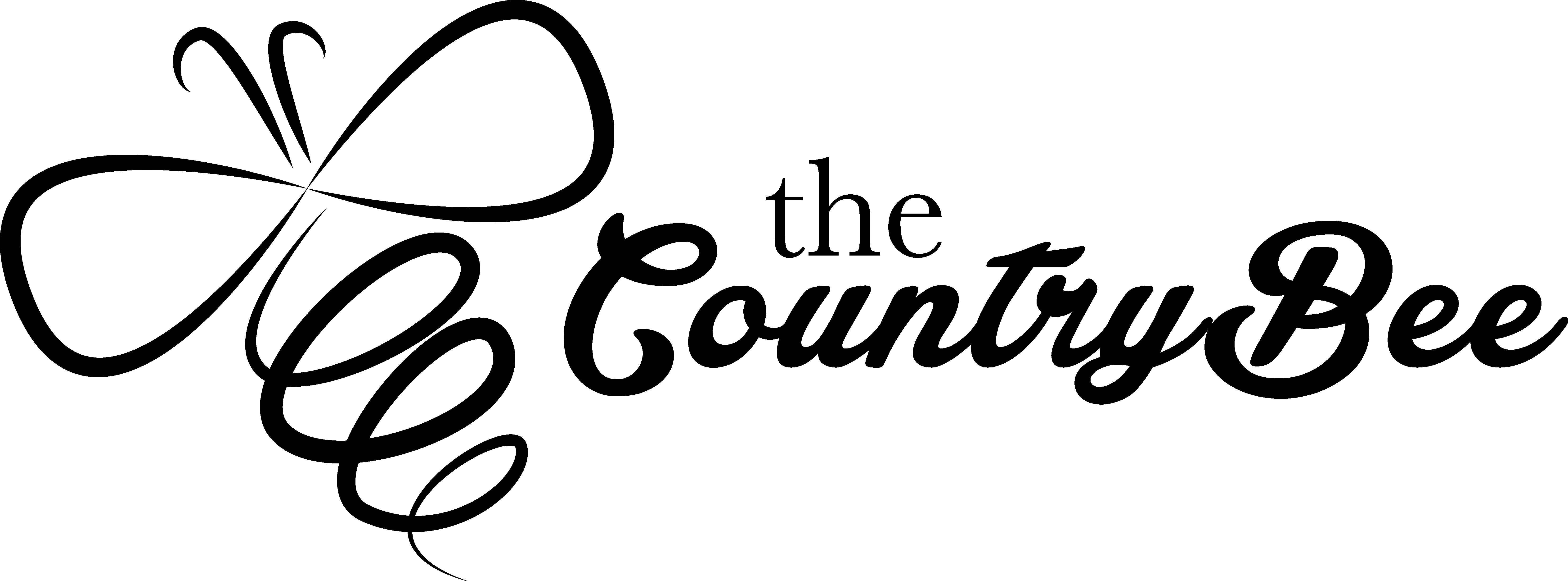 TheCountryBeeLogoBlack