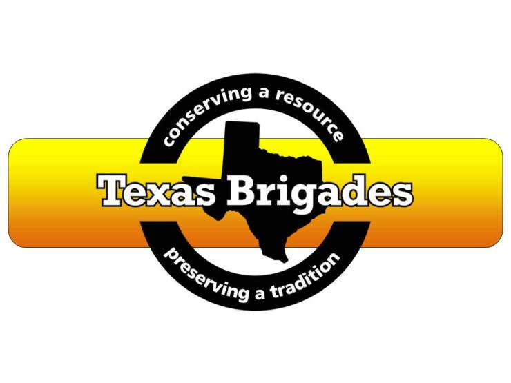 Texas Brigades Logo-Bar